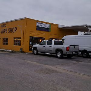 SWMO Vapes is a vape shop with truck parking in Mt. Vernon Missouri.