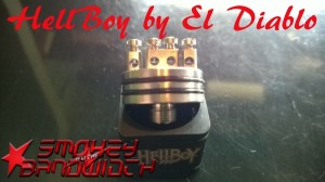 Hellboy Driping Atomizer